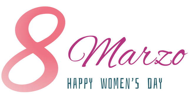 8 Marzo Happy Women's Day